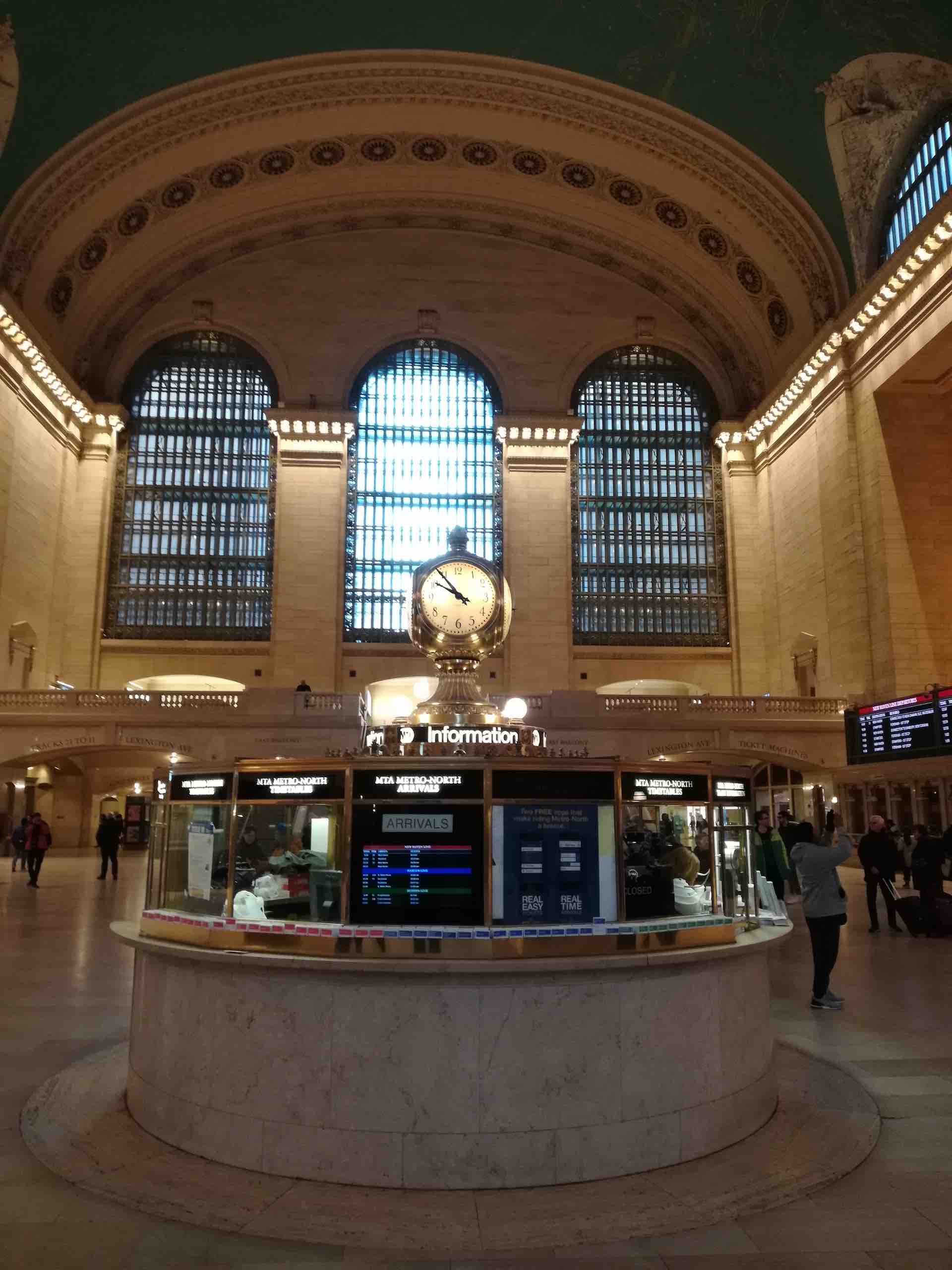 Grand Central Terminal NYC Clock