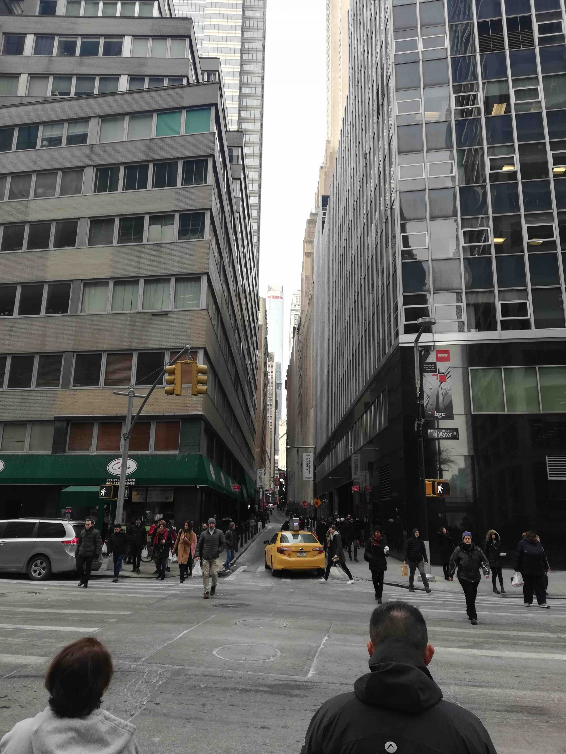 NYC Moments Fidi streets