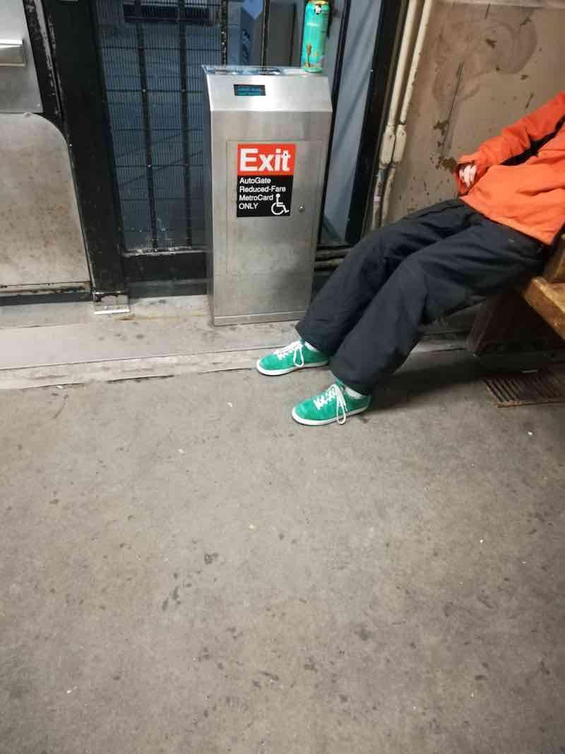 NYC Moments MTA Subway
