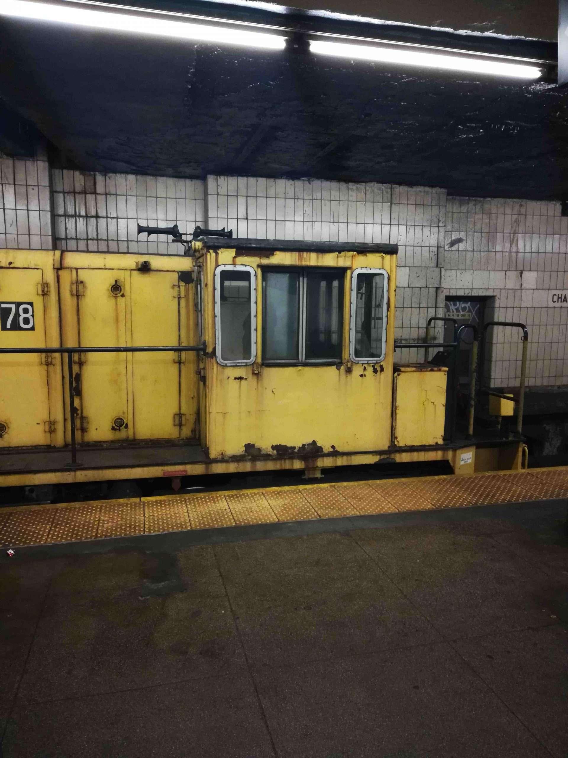 NYC MTA Subway maintenance train