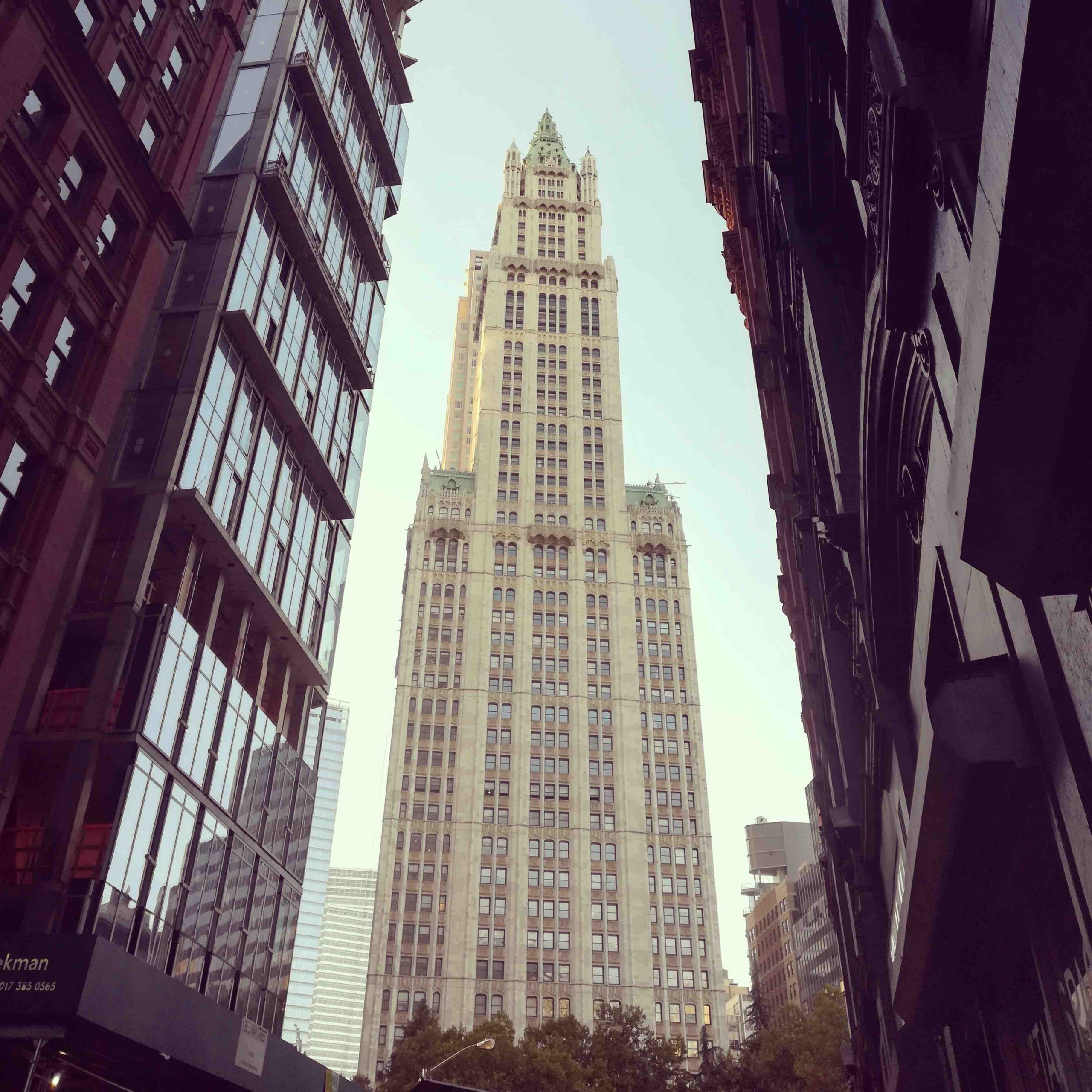 NYC Moments Woolworth Building