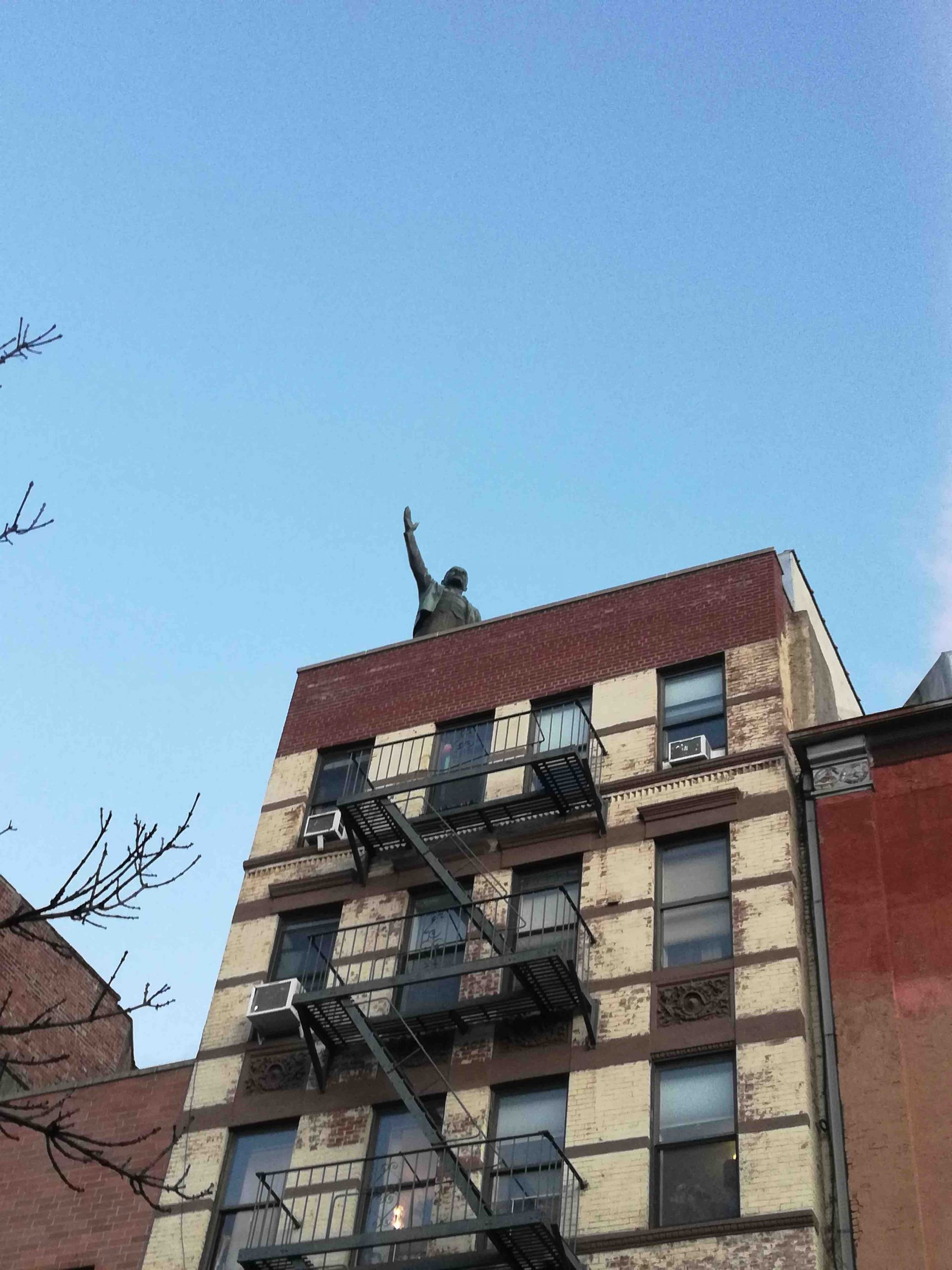 NYC Moments Statue of Lenin