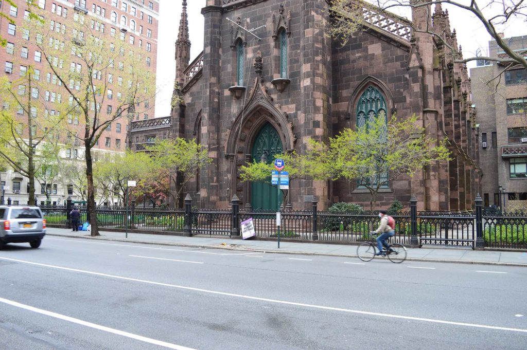 NYC Moments bike riders in Chelsea