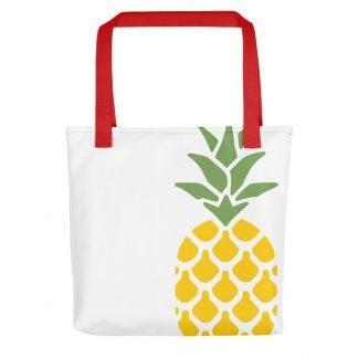 Pineapple Reusable Tote Bag