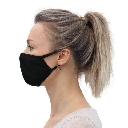 Face mask black for girls