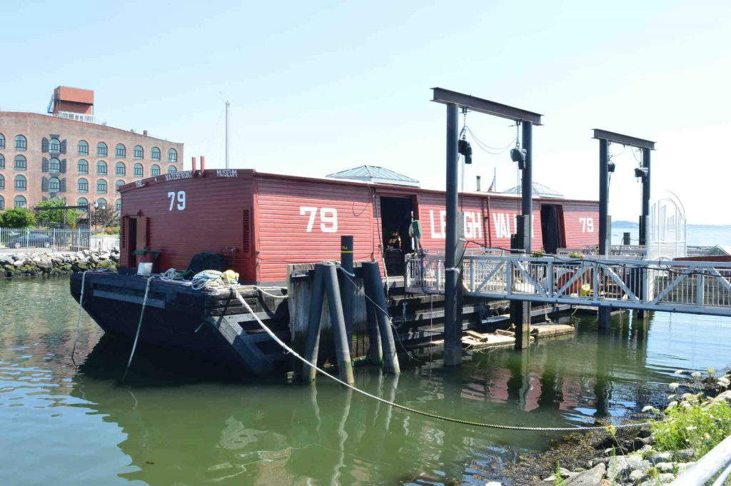 Leigh Valley Boat 79 at Red Hook Brooklyn