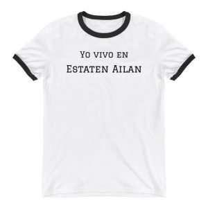 Yo Vivo en Estaten Ailan T-Shirt