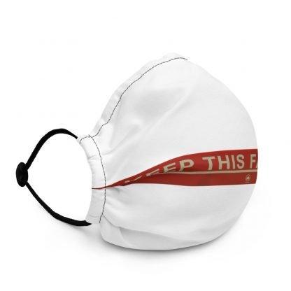 Keep This Far Apart premium face mask