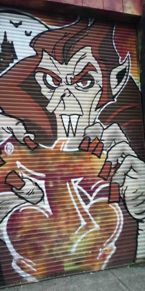 NYC Bushwick Brooklyn art Dracula