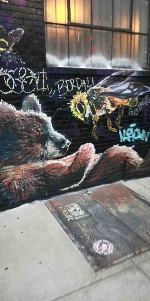 NYC Bushwick Brooklyn art bee