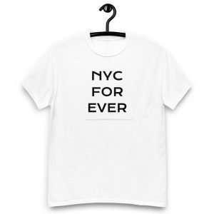 NYC Forever Tshirt White