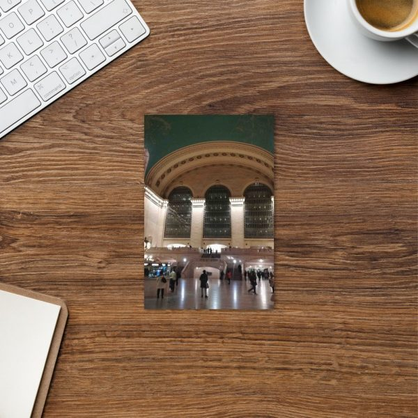 NYC Grand central station postcard