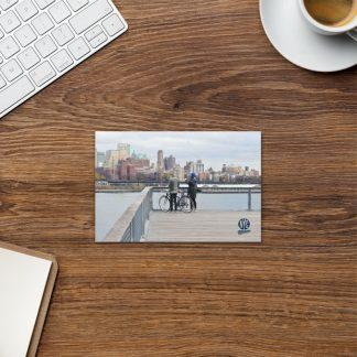 NYC Seaport postcard